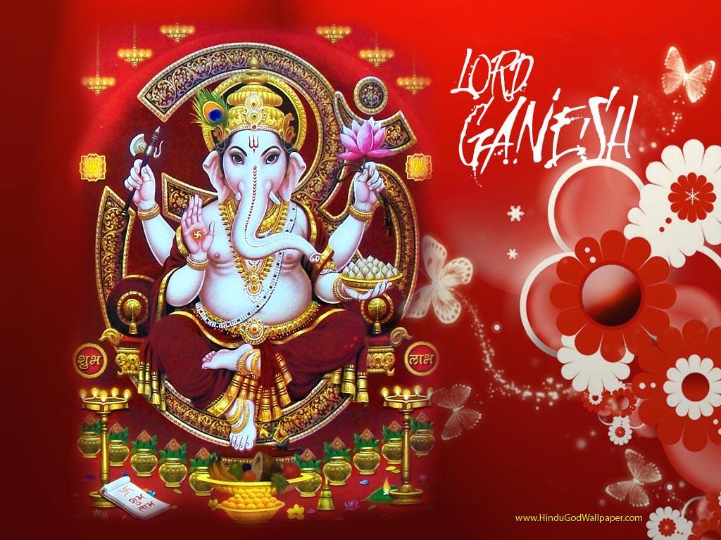 Lord Ganesha Hindu God Wallpapers Free Download