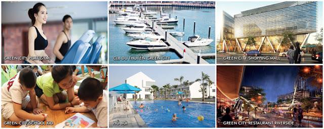 Thiên đường sống lành mạnh tại Green City Da Nang
