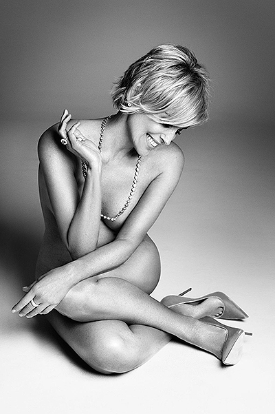 Sharon Stone for Harper's Bazaar