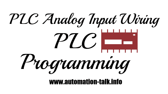 Plc analog input wiring and plc programming automation talk all but ccuart Images