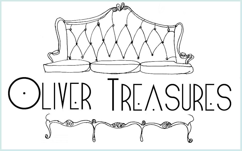Oliver Treasures: Antique Lilac Blue Dresser