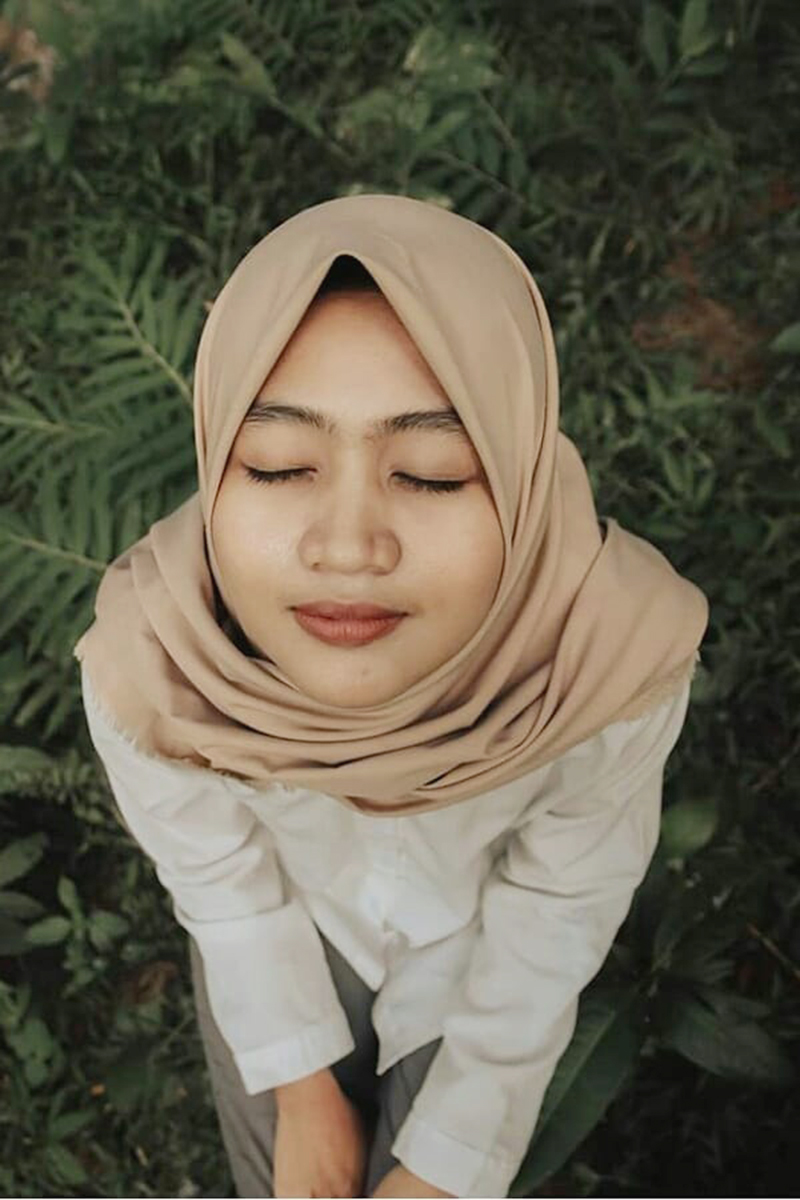 Cewek IGO jilbab Cantik carissa