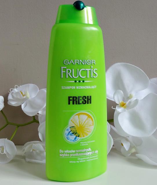 Szampon Garnier Fresh do włosów normalnych i szybko przetłuszczających się