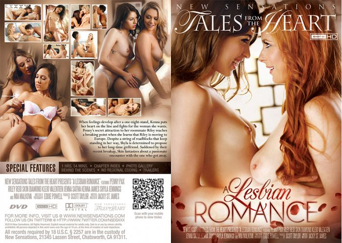 A Lesbian Romance - Shyla Jennings, Mia Malkova, Penny Pax, Riley Reid, Jenna Sativa, Kenna James, Skin Diamond, Kleio Valentien