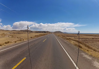 Muitas retas no Peru.