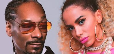 Anitta com o rapper Snoop Dogg em Onda Diferente: música pode estar no MTV Top 20, nova parada musical da emissora
