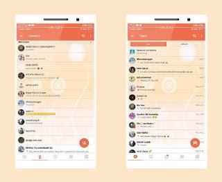 Download BBM MOD Candy Light v3.3.2.31 Apk Clone/Unclone Terbaru Gratis