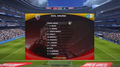PES 2017 Copa Del Rey Scoreboard by G-Style