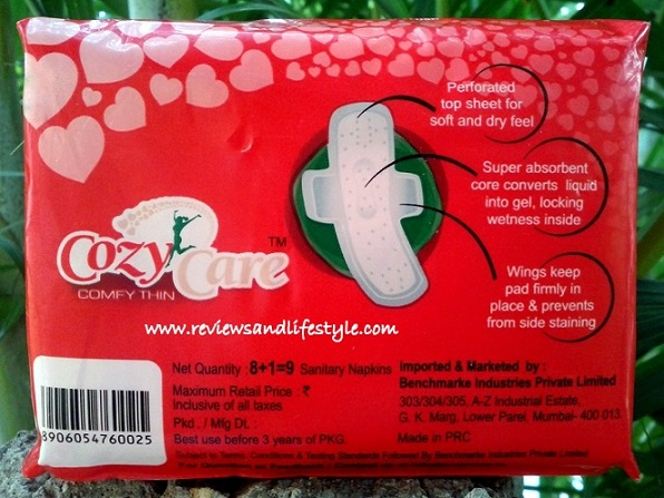 CozyCare Sanitary Napkins Review