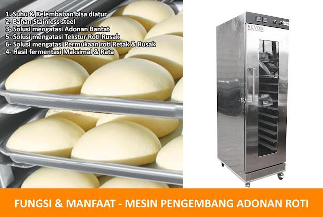 Fungsi dan Manfaat Proofer Roti
