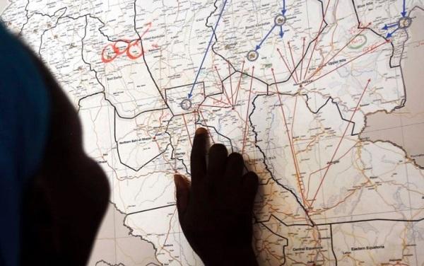 Peta adalah guide penting selama mudik perjalanan