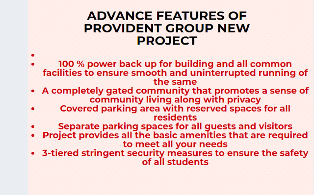 Provident Park Square Information