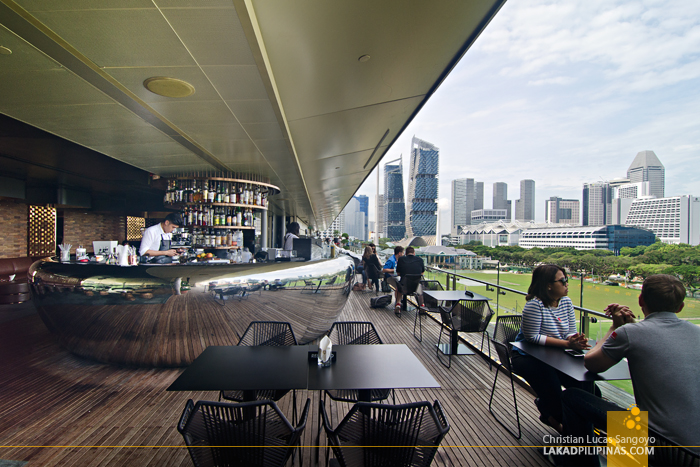 National Gallery Singapore Roof Cafe
