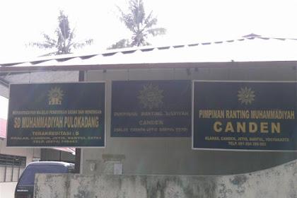 Profil Perpustakaan Sekolah SD MUHAMMADIYAH PULOKADANG, Desa CENDEN, Bantul Yogyakarta