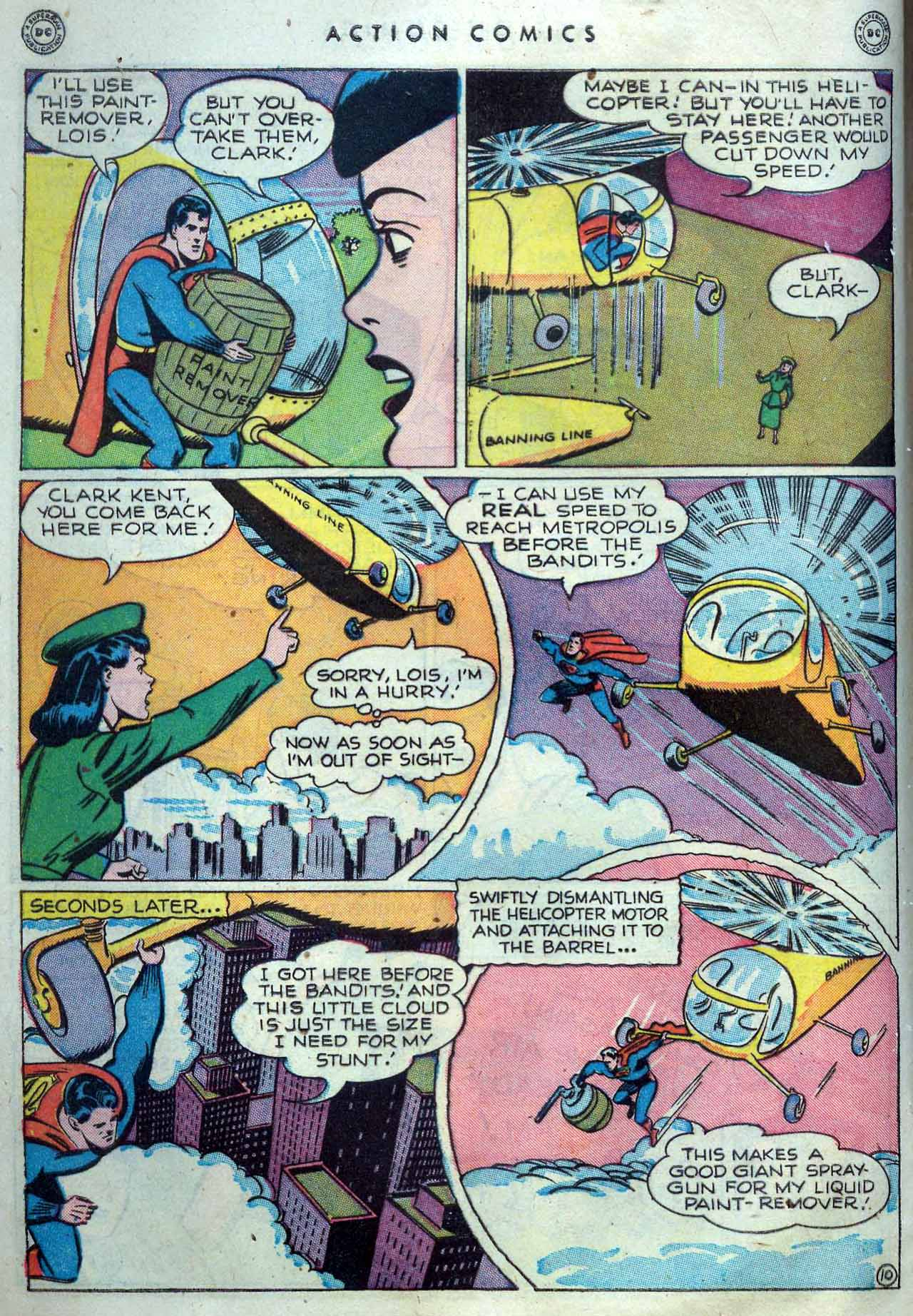 Read online Action Comics (1938) comic -  Issue #119 - 12