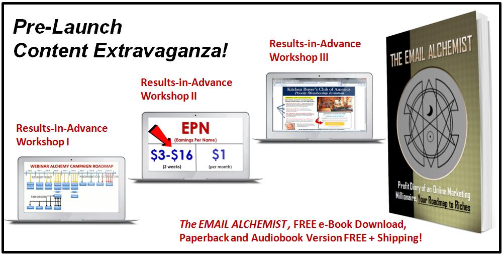 Pre-Launch Content Email Alchemy Elite