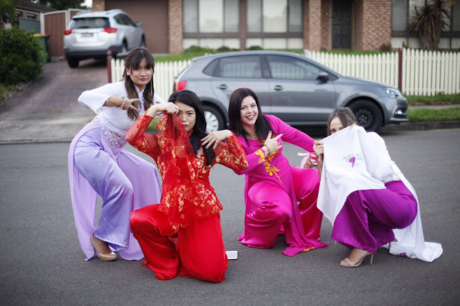 Vietnamese Wedding Ao Dai