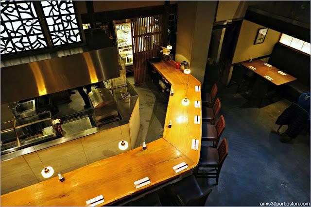 Planta Baja del Restaurante Japonés Ootoya Chelsea en Nueva York