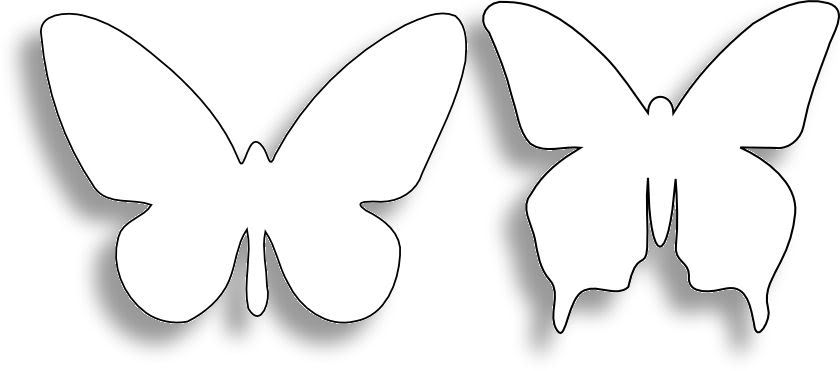 Magyar foltvarr c h el ttem az ut dom pillang for Butterfly paper cut out template