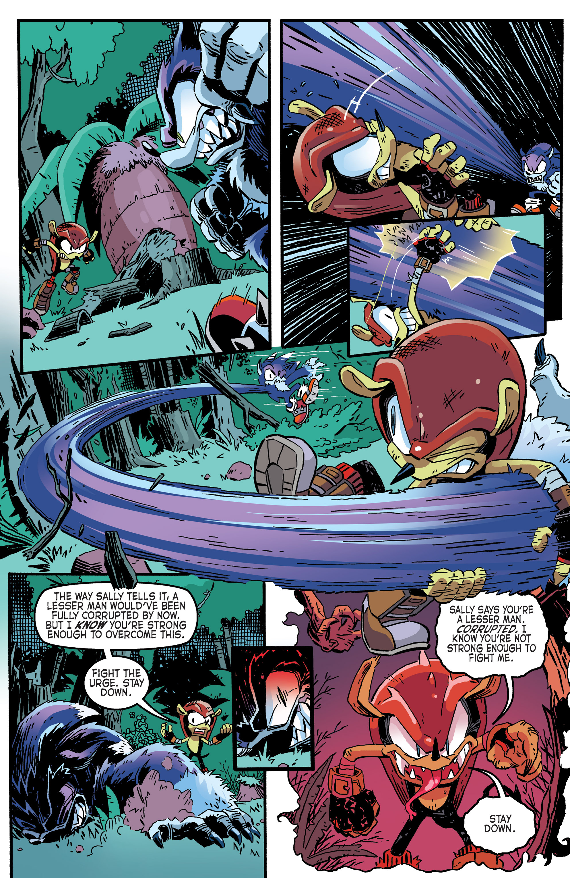 Read online Sonic The Hedgehog comic -  Issue #265 - 11