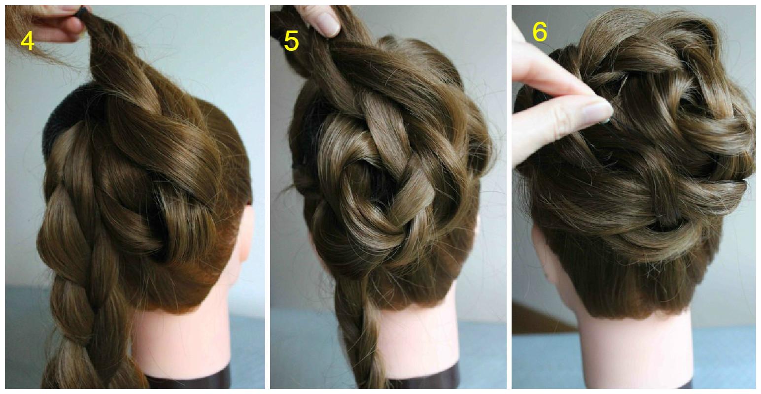 Lo más universal peinados paso a paso Imagen de cortes de pelo tutoriales - Peinados con flores paso a paso - Cortes de pelo con ...