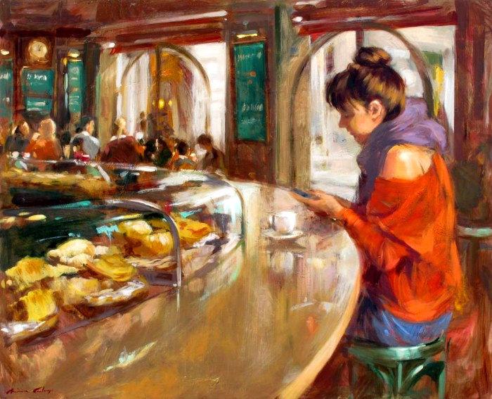Современные художники Испании. Monica Castanys 11