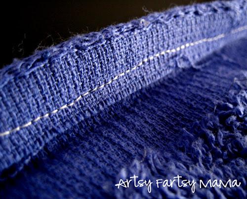 Towel Wrap | artsy-fartsy mama