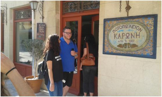 Εκπαιδευτικη επίσκεψη του ΔΙΕΚ Ναυπλίου στην κάβα Καρώνη και στην κάβα του εστιατορίου 360o