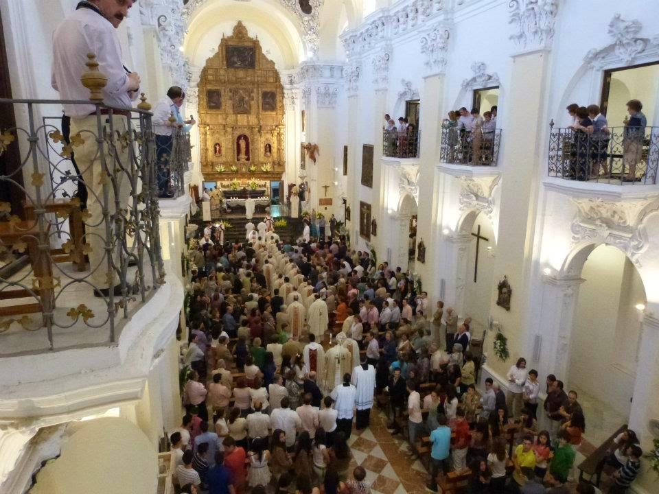 procesión ordenación