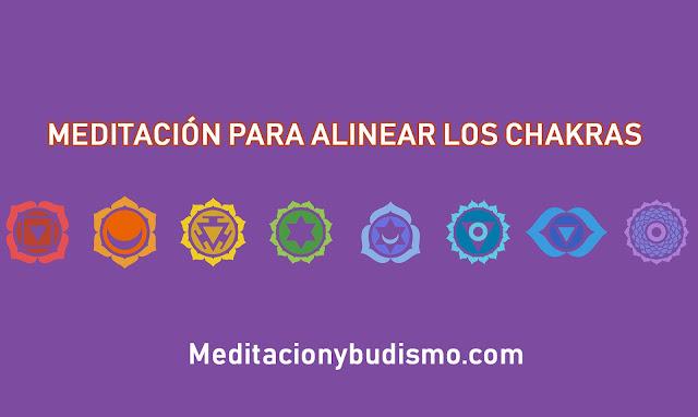 MEDITACIÓN PARA ALINEAR LOS CHAKRAS