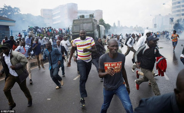 Police Kill 11 Protesters In Kenya's Post-Election Violence