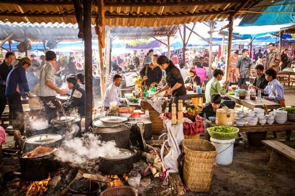 7. Go to Vietnam to the temple of street food