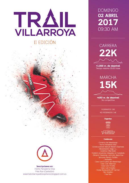 Cartel II Trail Villarroya