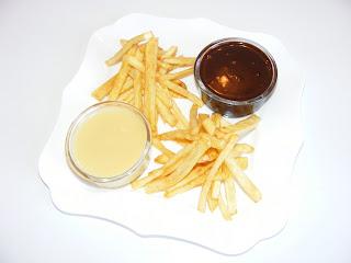 Cartofi prajiti cu sos de ciocolata reteta,