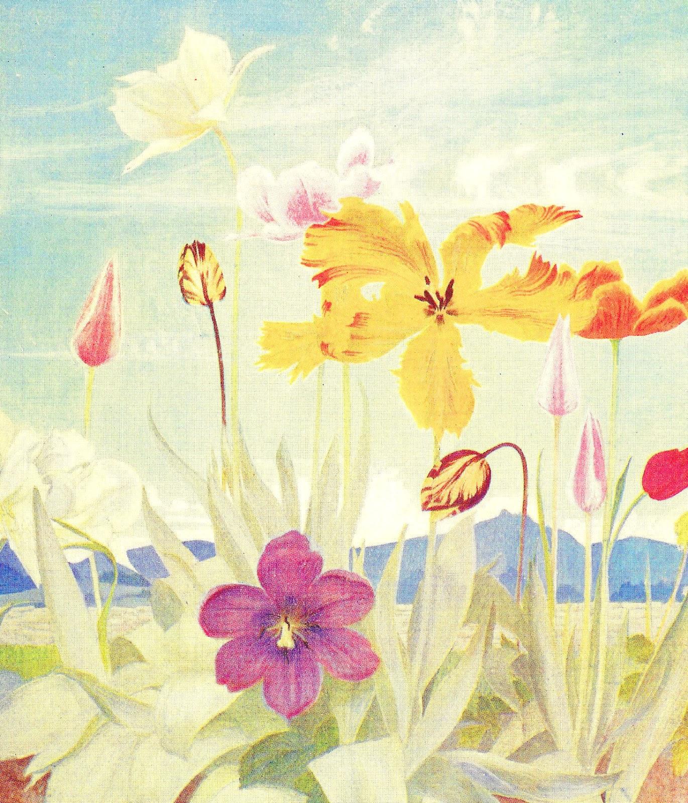 vintage spring clip art - photo #31