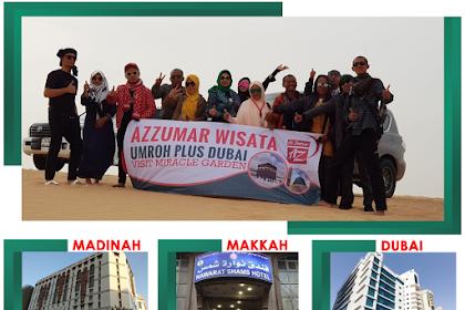 Paket Umroh Syawal Plus Dubai 12 Hari
