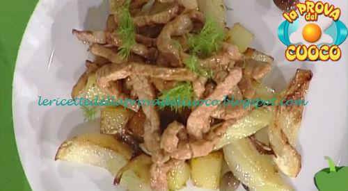 Maiale agro-piccante con finocchio e olive ricetta Parizzi da Prova del Cuoco