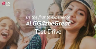 LG Mobile Philippines Launched LG G4 Test Drive
