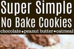 Super Simple No Bake Cookies