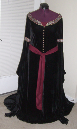 Arwen's Mourning Dress by Aria Couture