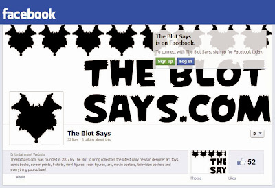 TheBlotSays.com joins Facebook!
