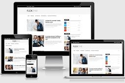 FlexZine Responsive Modern Blogger Template Free Download