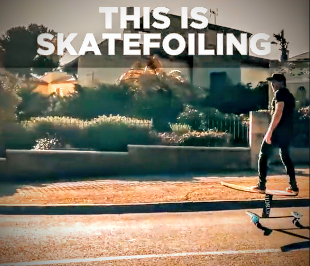 Skatefoiling