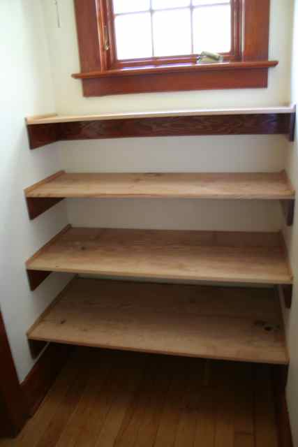 PDF DIY Build Wood Shelves In Closet Download build for