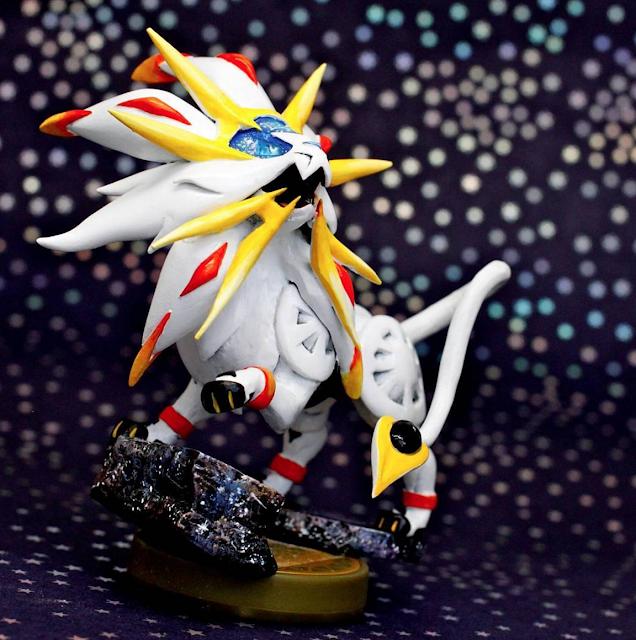 ¡No te pierdas el amiibo de Solgaleo! (fanmade Pokémon Sol y Pokémon Luna) 1