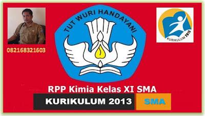 RPP Kimia Kelas XI Semester 2 terbaru Kurikulum 2013