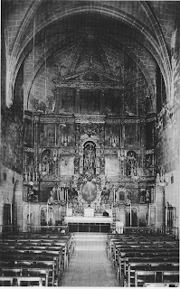 Altar de l'església de Sant Martí