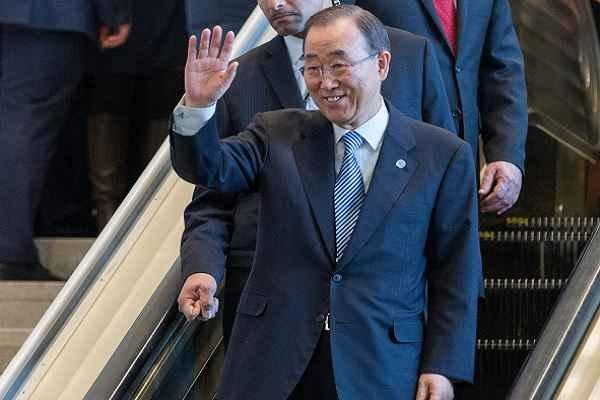 संयुक्त राष्ट्र के महासचिव पद से बान की मून की विदाई