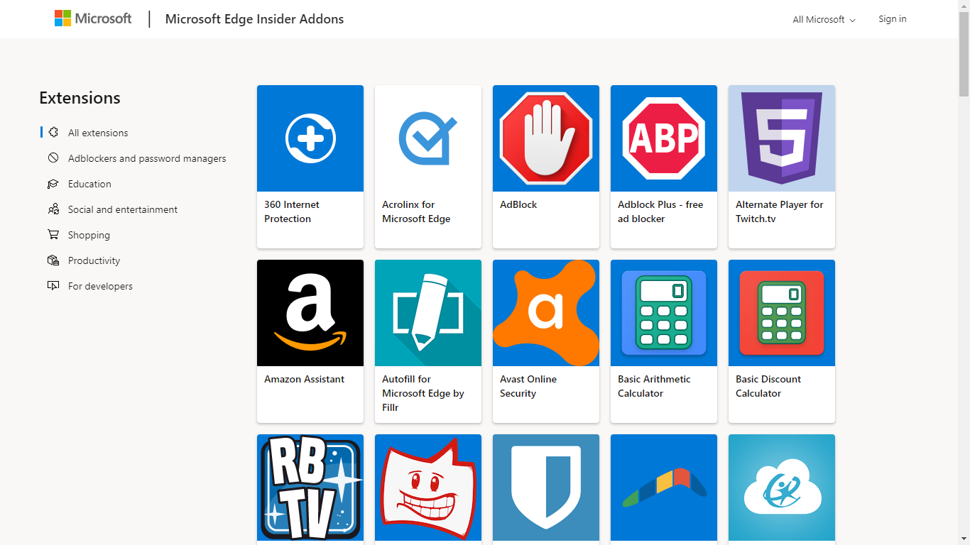 Microsoft-Edge-Web-Store