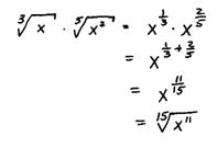 OpenAlgebra.com: Rational Exponents
